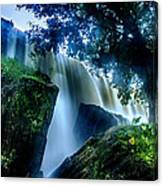 Tranquility Falls Canvas Print