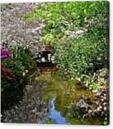 Tranquility Garden Canvas Print