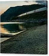 Trans Siberian Sunset Canvas Print