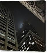 Transamerica Fog Canvas Print
