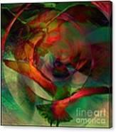 Transdimensional Seagulls  Canvas Print