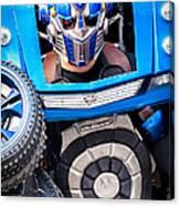 Transformer Man Mime Canvas Print