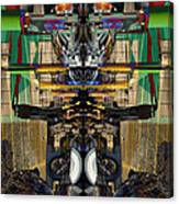 Transformers Transition Hcc Sw Parking Lot  Canvas Print