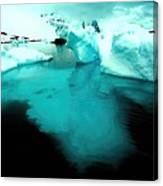 Transparent Iceberg Canvas Print