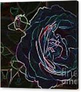 Transparent Rose Canvas Print