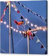 Trapeze Blur Canvas Print
