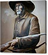 Trapper Canvas Print