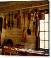 Trapper Supplies At The General Store Canvas Print