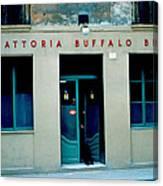 Trattoria Buffalo Bill 1962 Canvas Print