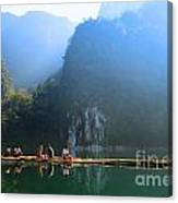 Travel In South Of Thailand Canvas Print