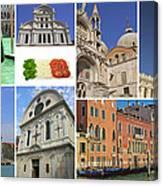 Travel To Venice  Canvas Print