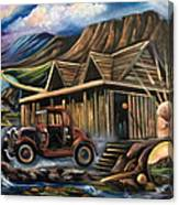 Traveling Car Canvas Print