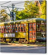 Traveling In New Orleans Canvas Print