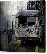 Travelling Through Time 2 Canvas Print