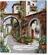 Tre Archi Canvas Print