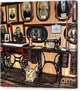 Treadle Sewing Machines Canvas Print