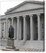 Treasury Department Washington Dc Canvas Print