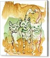 Tree Brothers  Canvas Print