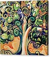 Tree Candy 2 Canvas Print