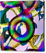 Tree-dimensional Ring Canvas Print