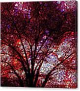 Tree Emboss Canvas Print