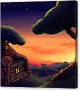 Tree Home Canvas Print
