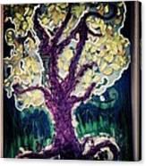 Tree In Three Canvas Print