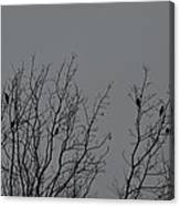 Tree Of Birds Canvas Print