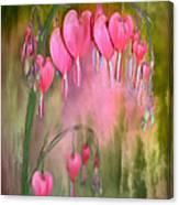 Tree Of Bleeding Hearts Canvas Print