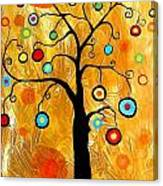 Tree Of Happiness 647 - Marucii Canvas Print