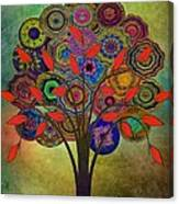 Tree Of Life 2. Version Canvas Print