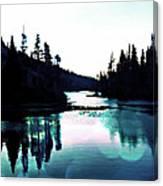 Tree Of Life Digital Paint Effect Canvas Print