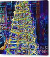 Tree Of Light Canvas Print
