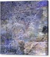 Tree On Road Canvas Print