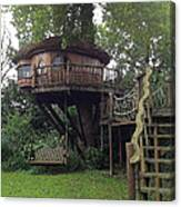 Tree Penthouse Canvas Print