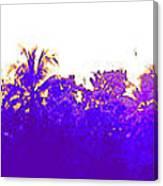 Tree Skyline Canvas Print