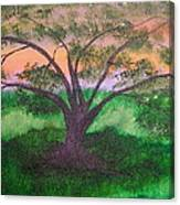 Tree Strong Canvas Print