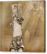 Tree Stump 2 The Forgotten Series 15 Canvas Print