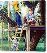 Treehouse Magic Canvas Print