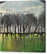 Treeline Canvas Print