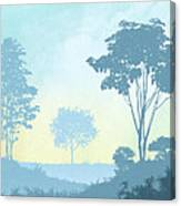 Trees Everywhere Canvas Print