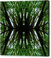 Treetops Abstract Canvas Print