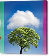 Treetypch Canvas Print