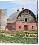 Tremonton Barn Canvas Print
