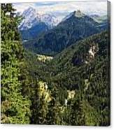 Trentino - Val Duron Canvas Print