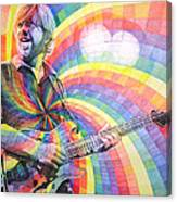 Trey Anastasio Rainbow Canvas Print