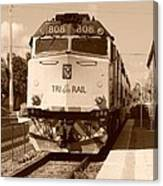 Tri Rail 808 Canvas Print