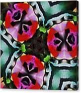 Triad Canvas Print
