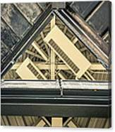 Triangle Ceiling Canvas Print