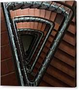 Triangle Staircase Canvas Print